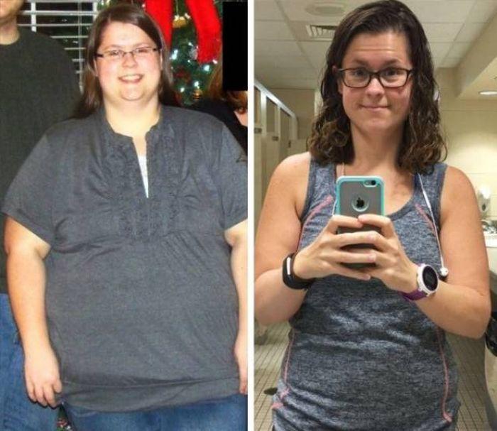 Похудевшие люди (38 фото)
