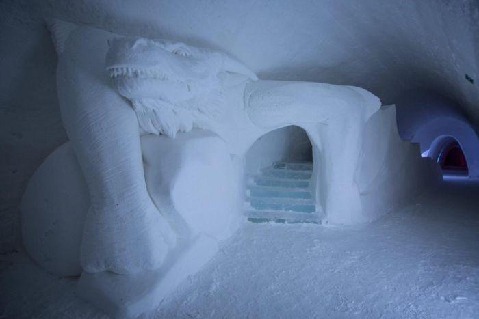 В Финляндии появился ледяной отель по мотивам сериала «Игра престолов» (7 фото)