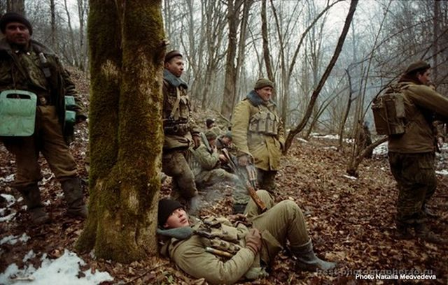 Героический бой Псковской бригады спецназа ГРУ (24 фото)
