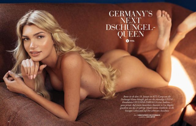 На обложку Playboy поместили фото модели-трансгендера Джулианы Фарфаллы. НЮ (2 фото)