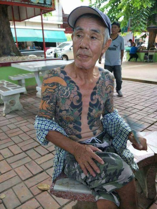 В Таиланде арестован бывший глава якудза Синехара Сираи (5 фото)