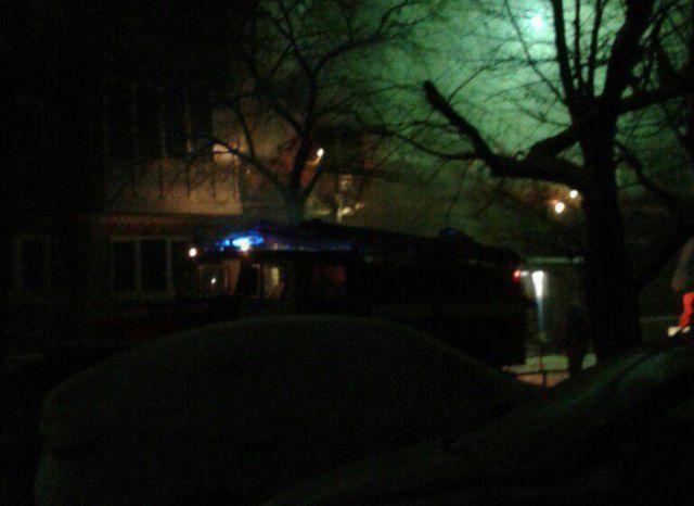 Взрыв бытового газа в жилом доме на окраине Омска