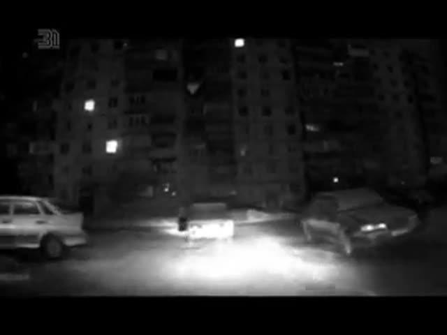 В Магнитогорске угонщик выпрыгнул из автомобиля