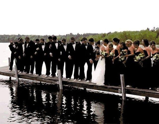 Свадебные фейлы (16 гифок)