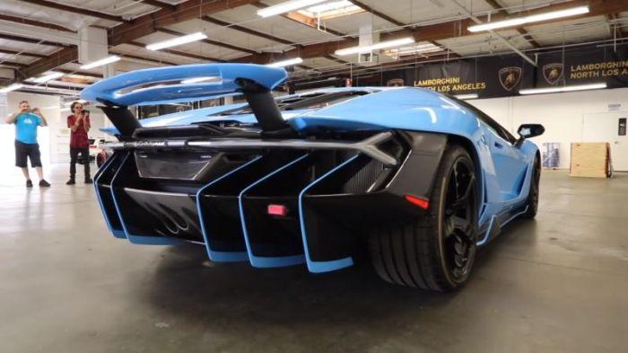 Распаковка суперкара Lamborghini Centenario (13 фото)