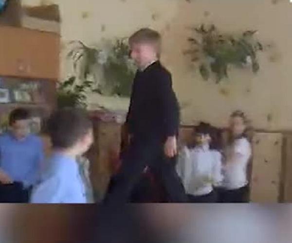 Лев Биджаков в 11-летнем возраст