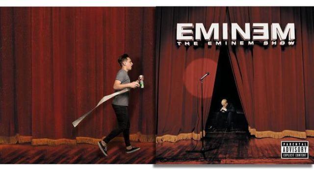 Парень дополняет обложки альбомов известных исполнителей (15 фото)