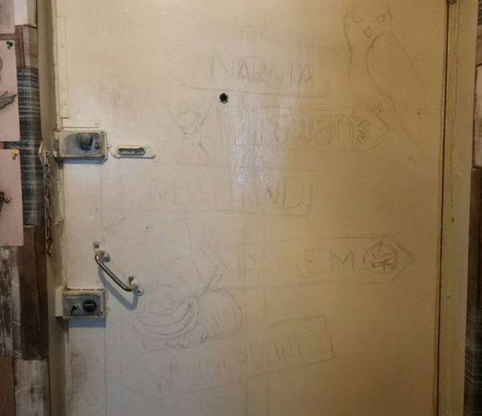 Реставрация входной двери (5 фото)