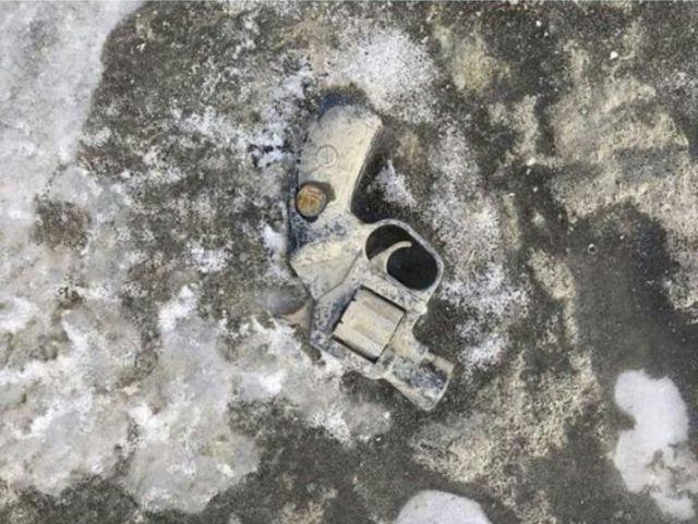 Оружие на дне обмелевшего Дона (4 фото)