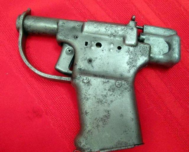 Liberator FP-45 - самый быстрый в изготовлении пистолет в мире (10 фото)