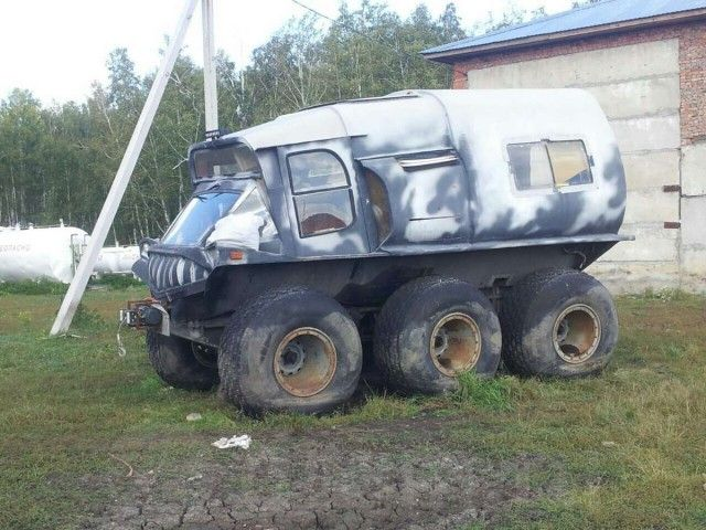 Самодельный вездеход за 600 тысяч рублей (9 фото)