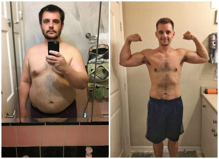 Перекинуть свой вес на фото другого человека этой статье