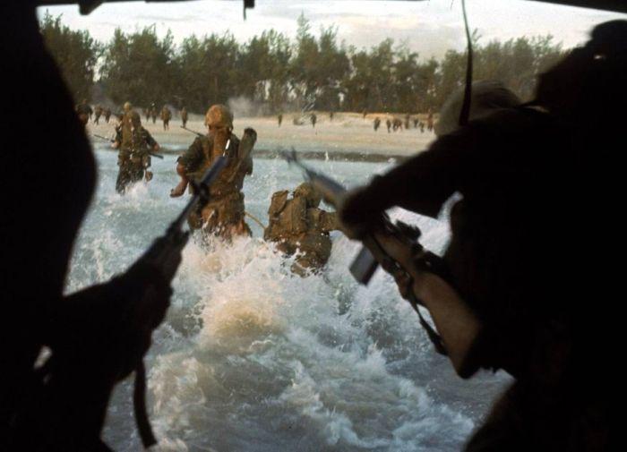 Качественные цветные фото войны во Вьетнаме (42 фото)