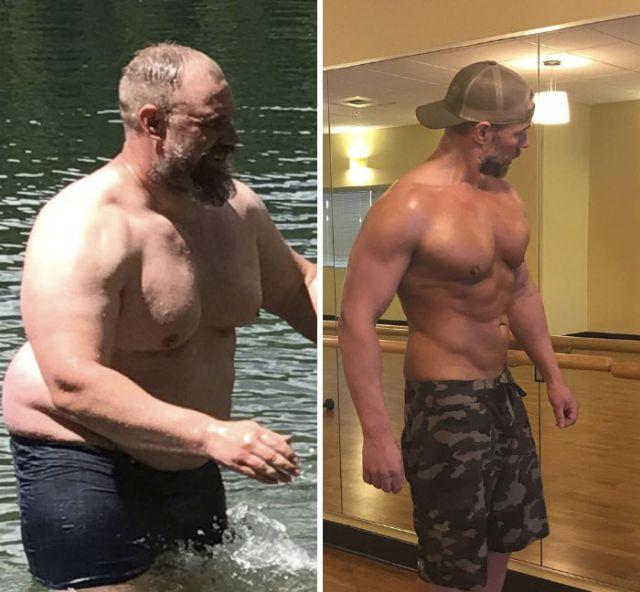 Удивительное преображение 39-летнего мужчины (10 фото)