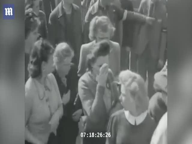 Граждане Германии в концлагере Бухенвальд