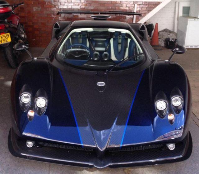 Мультимиллионер купил гиперкар Pagani за 3,85 млн евро, но не смог на нем ездить (3 фото)