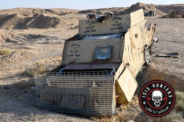 Смертник ИГИЛ выехал на задание (2 фото)