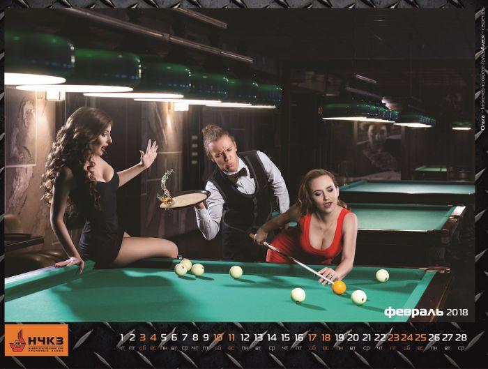 Набережночелнинский крановый завод представил эротический календарь со своими сотрудницами (14 фото)