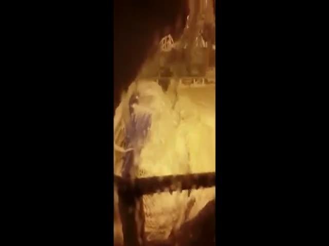 Последнее видео с пропавшего траулера «Восток»