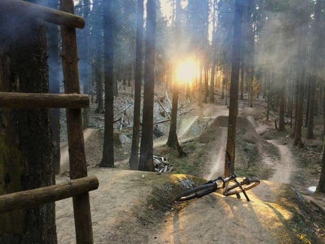 Под Минском не стало велотрассы, строившейся 10 лет (3 фото)