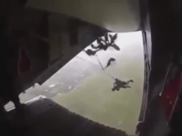 Нештатные ситуации при прыжках с парашютом