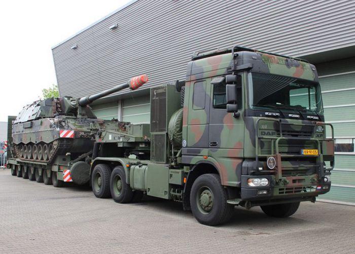 Танковые тягачи (16 фото)