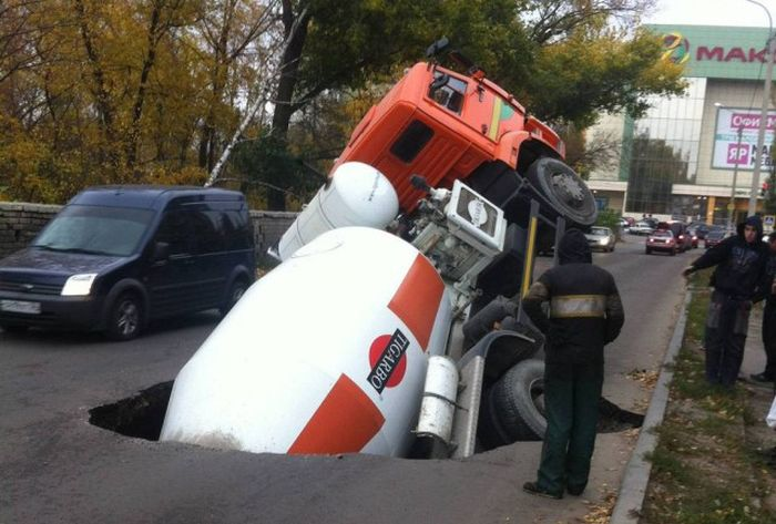 Жесть на российских дорогах (23 фото)