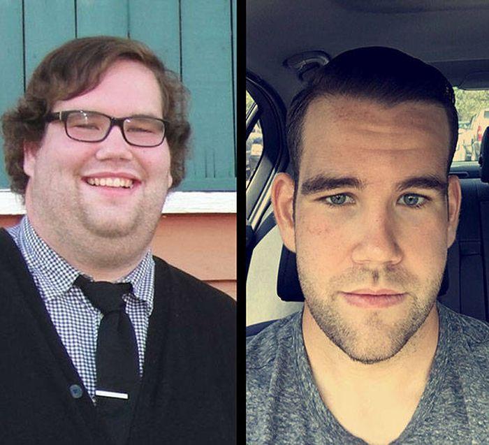 Люди, одолевшие лишний вес (20 фото)