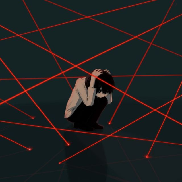 Japon sanatçının resimlerindeki karmaşık duygular (21 figür)