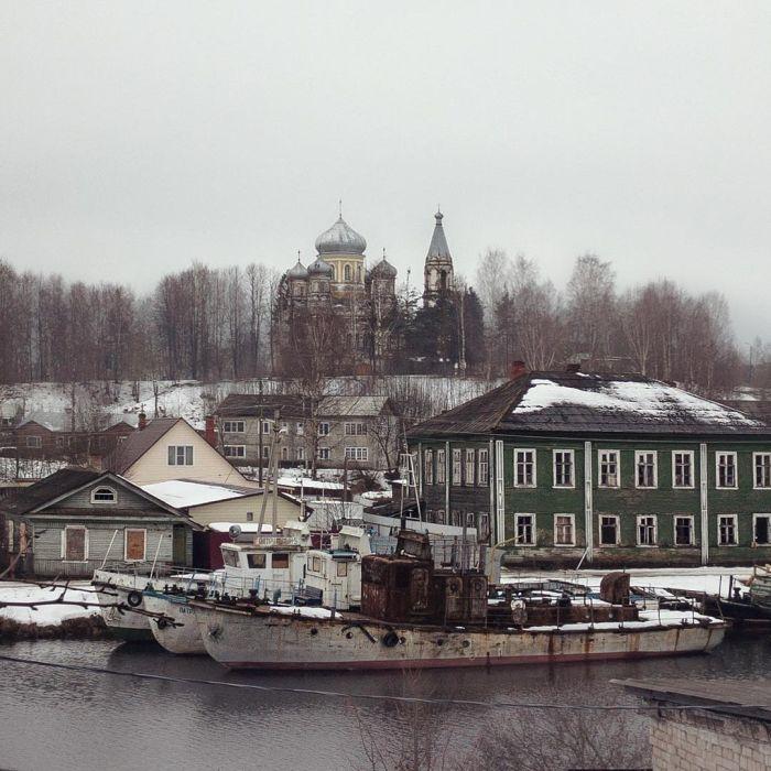 Российская провинция на фото Дмитрия Маркова (23 фото)