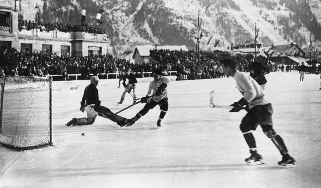 Первые Зимние Олимпийские игры, 1924 год (10 фото)