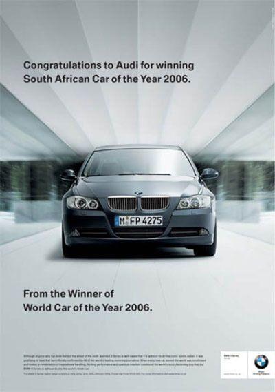 BMW получила достойный ответ на шутку над Audi (3 фото)