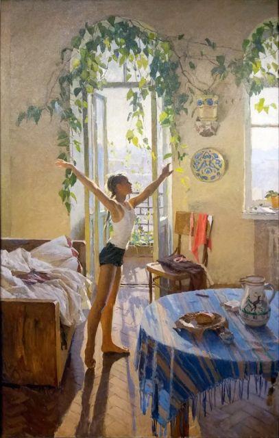 Картина «Утро» и история любви (7 фото)