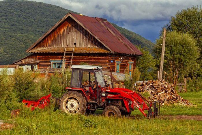 Атмосферные фотографии деревни, где живут староверы (45 фото)