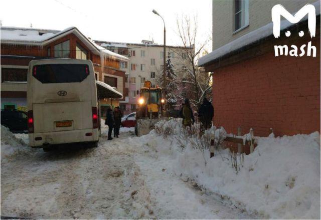 Звенигородские «строители» (2 фото + видео)