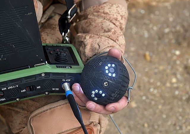 Уникальная разработка для спецназа – штурмовой «колобок» (3 фото + видео)