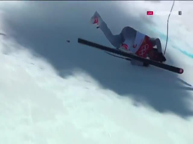 Горнолыжник из России Трохичев на олимпиаде попал в больницу
