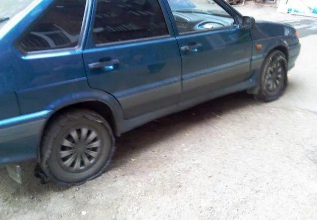 Свежие колеса, только залили (2 фото)