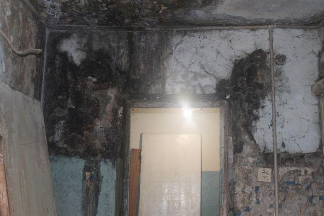 Тюменский гниющий дом пугает своим видом местных жителей (6 фото)
