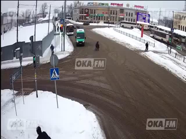 GTA отдыхает: погоня в Серпухово