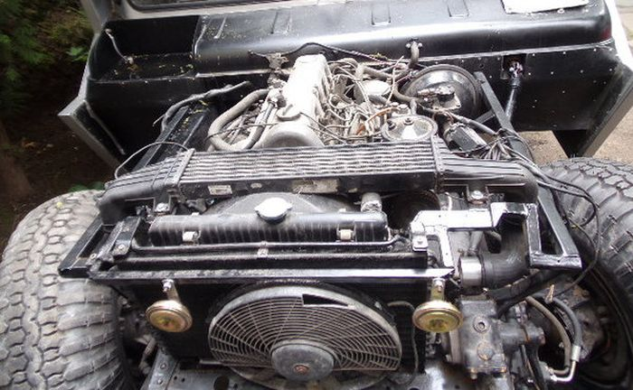 Как из ГАЗ-66 сделали настоящего монстра (18 фото)