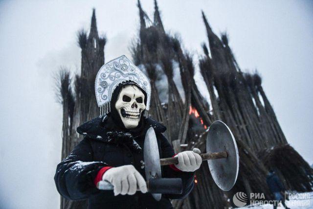 Масленица для эстетов: эпичное празднование в Калужской области (7 фото)