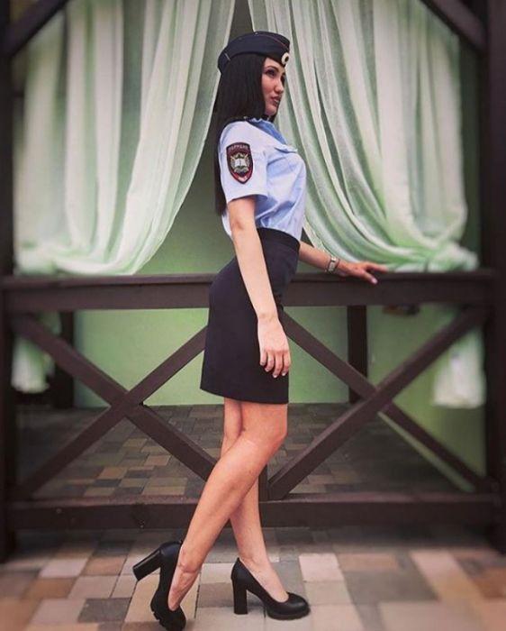 Красота спасет мир и МВД России (25 фото)