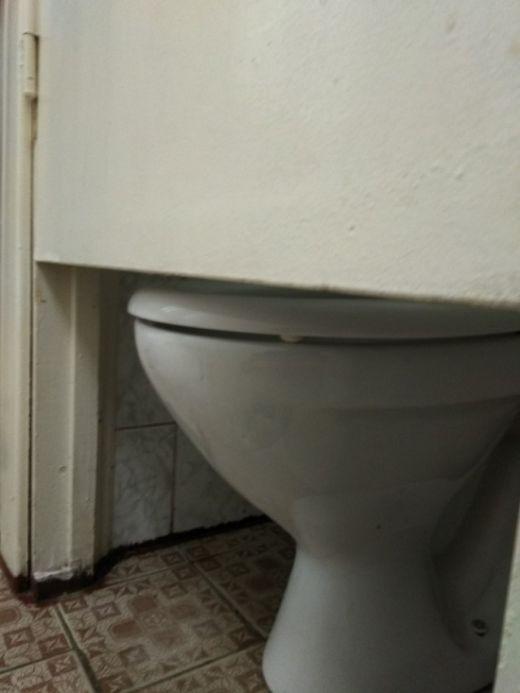 Туалет для школьников (2 фото)