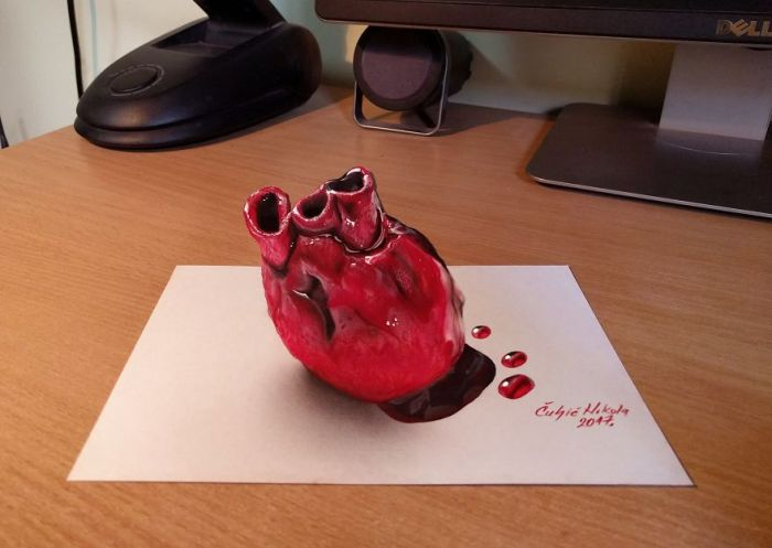 3D-рисунки созданы, чтобы поставить наше воображение в тупик (18 фото)