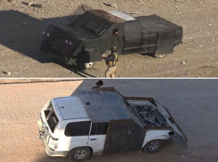Уродливая техника боевиков с Ближнего Востока (12 фото)