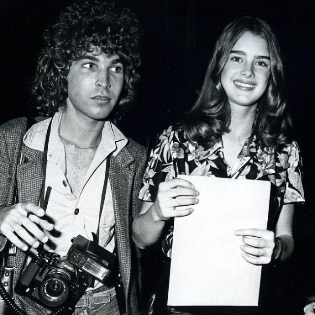 Редкие фотографии знаменитостей от юного профессионала (31 фото)