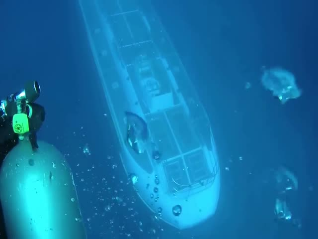 Обнаружена интересная подлодка на Гавайских островах
