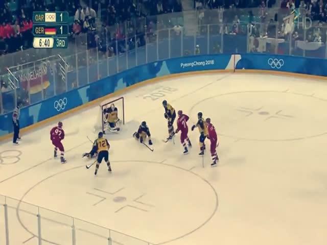 Российские хоккеисты выиграли золото Олимпиады