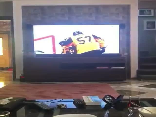 Искренний фанат сборной России по хоккею